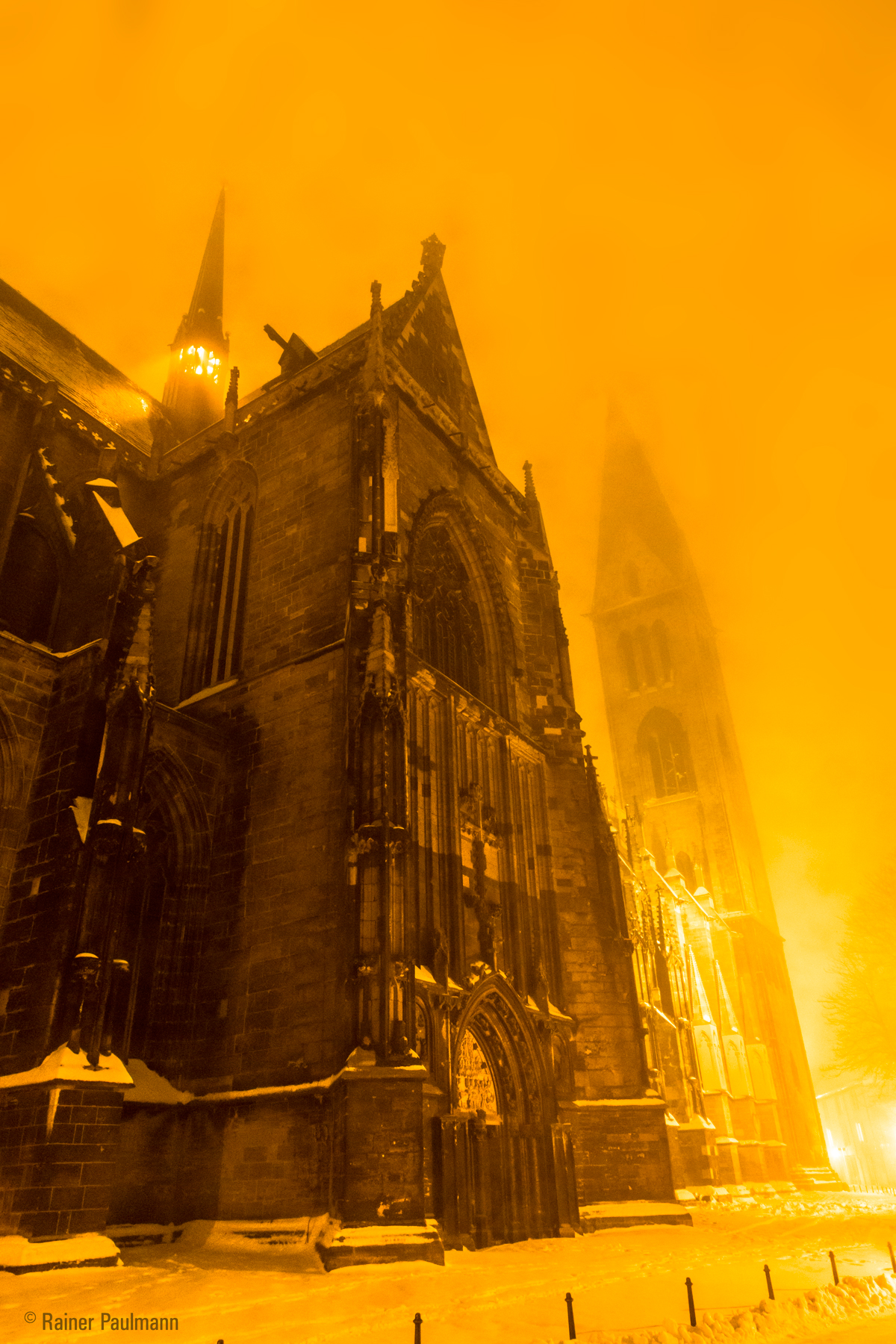 Licht, Nebel und Schnee ...