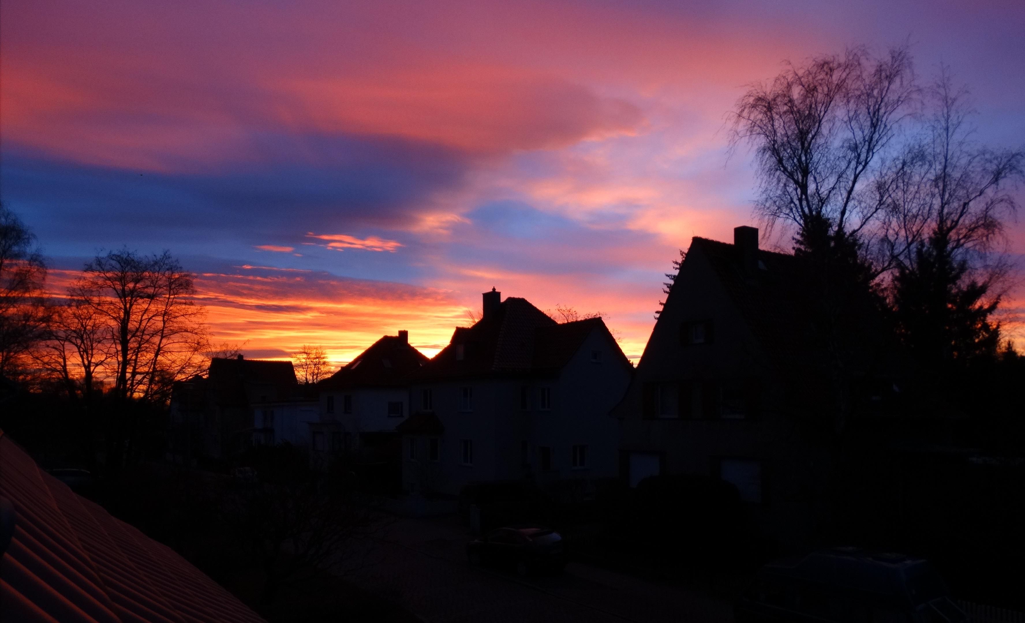 der neu Tag beginnt oft wunderschön