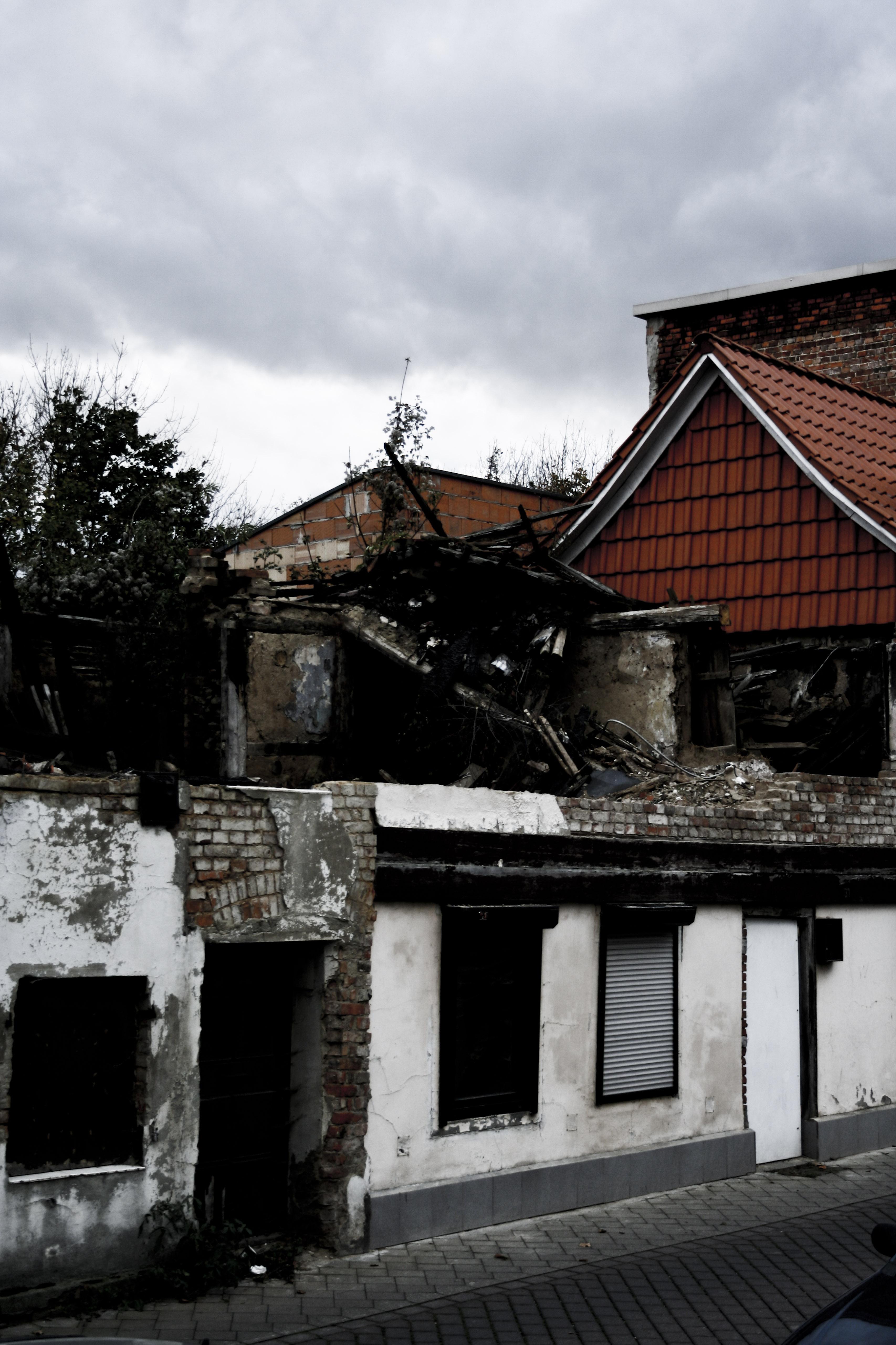 Ungeplanter Abriss eines Fachwerkhauses in der Huystraße